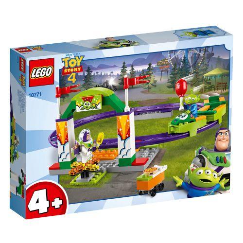 LEGO Disney Pixar Toy Story 4 10771 Karnevaalien jännittävä vuoristorata