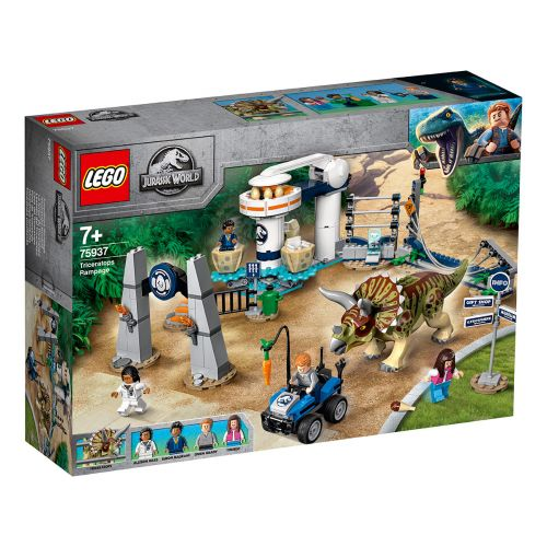 LEGO Jurassic World 75937 Triceratopsin riehunta