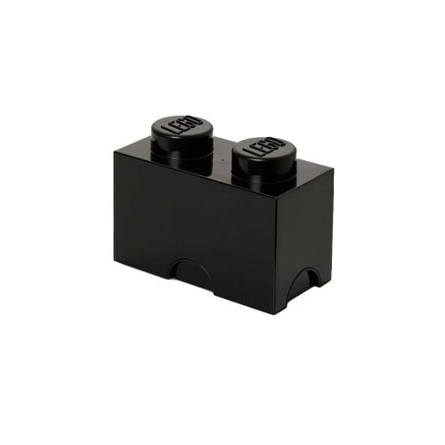 LEGO SÄILYTYSLAATIKKO 2 MUSTA 25X12,5X18CM