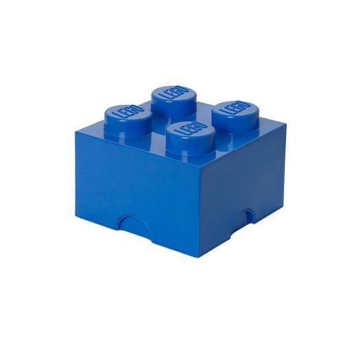 LEGO SÄILYTYSLAATIKKO 4 SININEN 25X25X18CM