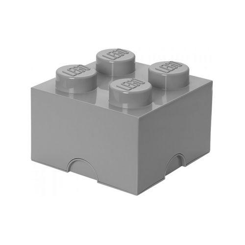 LEGO SÄILYTYSLAATIKKO 4 HARMAA 25X25X18CM