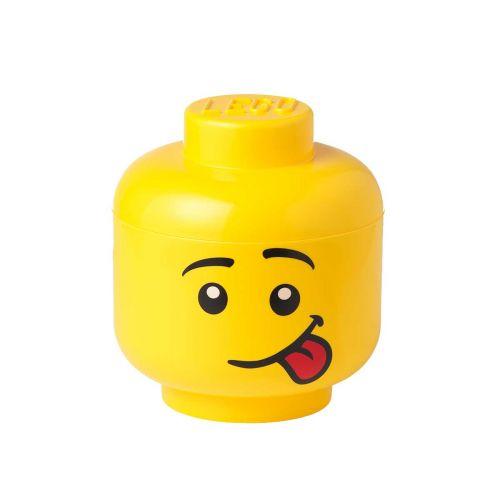 LEGO SÄILYTYSLAATIKKO PÄÄ SUURI SILLY 24X26,8CM