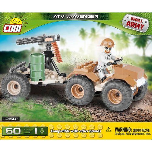 COBI Small Army ATV W/Avenger, 60 osaa