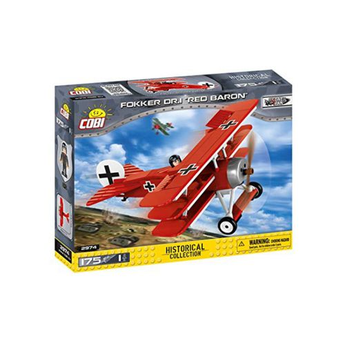 175 PCS SMALL ARMY FOKKER DR.I RED BARON
