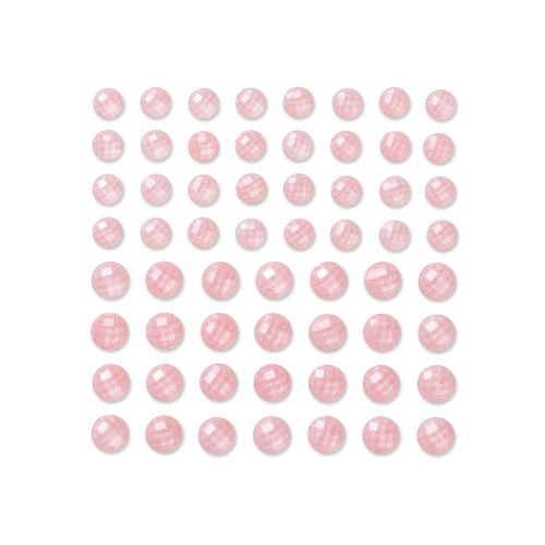 DPC TIMANTTITARRAT 60KPL 8-10MM VAALEA PINK