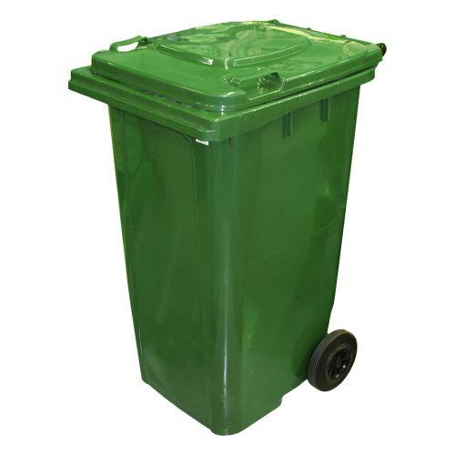 Jäteastia pyörillä 240L, vihreä