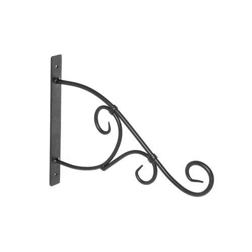 Xpert Garden amppelikoukku metalli musta 35cm