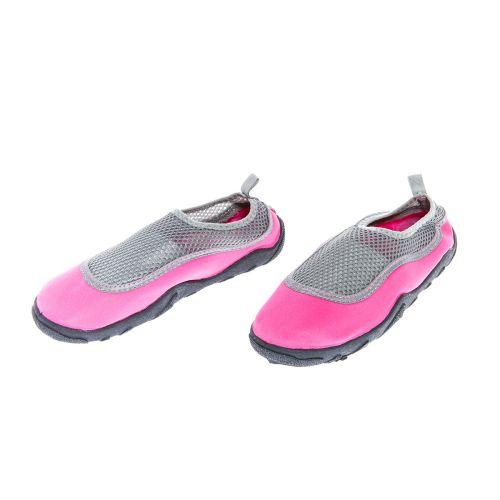 Uima-/avantotossut naisten, pinkki/harmaa