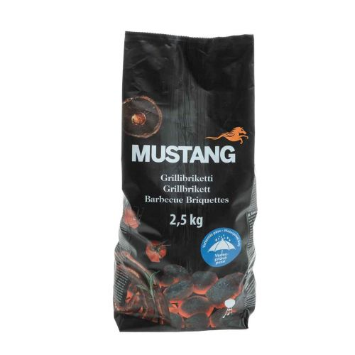 MUSTANG GRILLIBRIKETTI 2,5KG