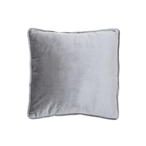 Koristetyyny Velvet harmaa 45x45cm