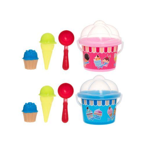 Play hiekkalelusetti jäätelö 7-osaa