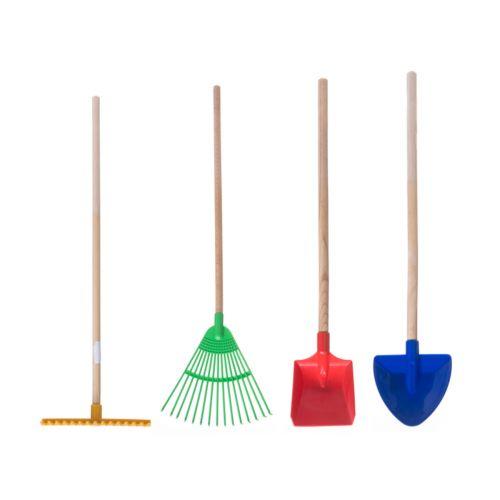 Play lasten työkalut puuvarrella lajitelma