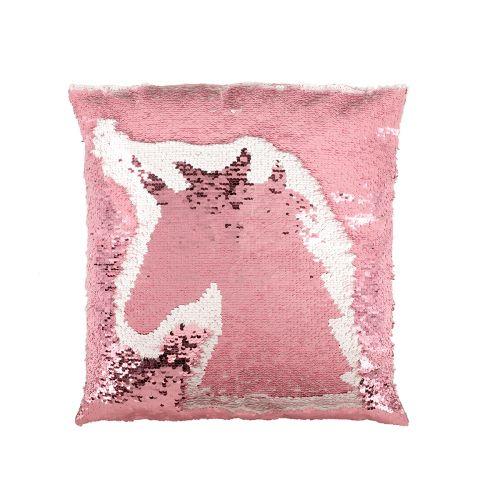 Koristetyyny Unicorn pinkki 40x40cm