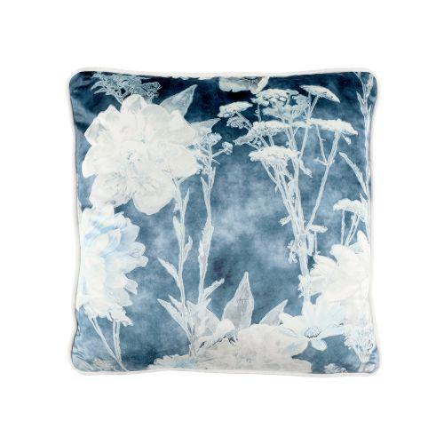 Koristetyyny Blue Flower 45x45cm