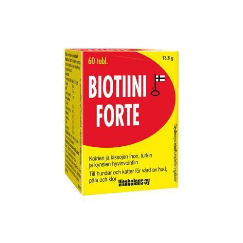 Biotiini Forte -tabletit koirille ja kissoille 60 KPL