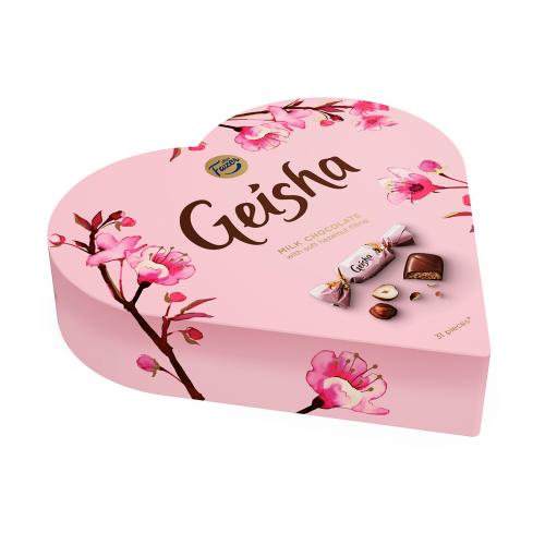 Fazer Geisha Sydän suklaakonvehdit 225g