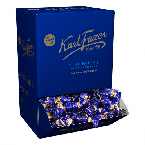 Karl Fazer Sininen maitosuklaakonvehti kääritty 3kg