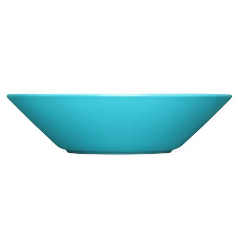 Iittala Teema lautanen syvä 21 cm turkoosi
