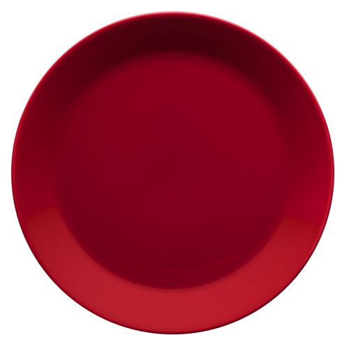 Iittala Teema lautanen 21cm punainen
