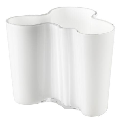 Iittala Aalto maljakko 120mm valkoinen