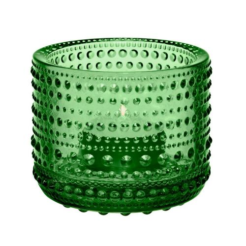 Iittala Kastehelmi kynttilälyhty, vihreä