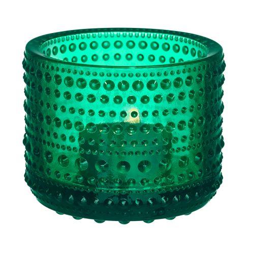 Iittala Kastehelmi kynttilälyhty, smaragdi