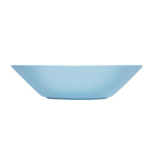 Iittala Teema lautanen syvä 21 cm vaaleansininen