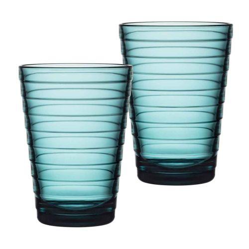 Iittala Aino Aalto juomalasi 33cl merensin. 2kpl