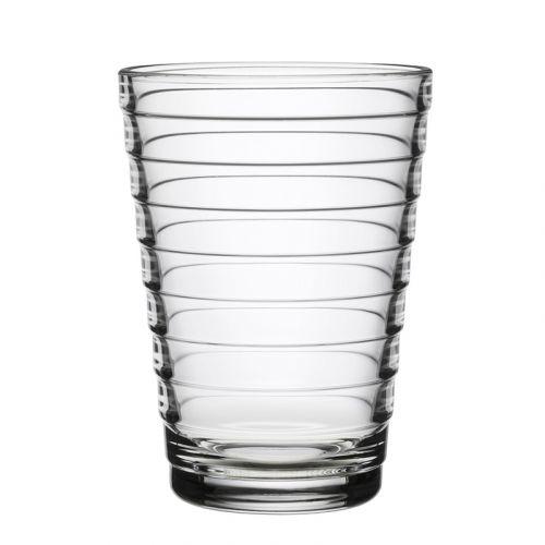 Iittala Aino Aalto juomalasi 33cl, kirkas 2kpl