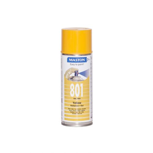 SPRAYMAALI 100 - KELTAINEN 801 400ML RAL1003 400 ML