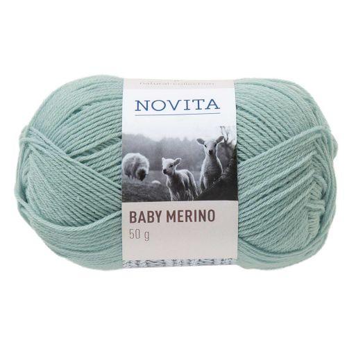 NOVITA BABY MERINO 50G HOPEAPAJU