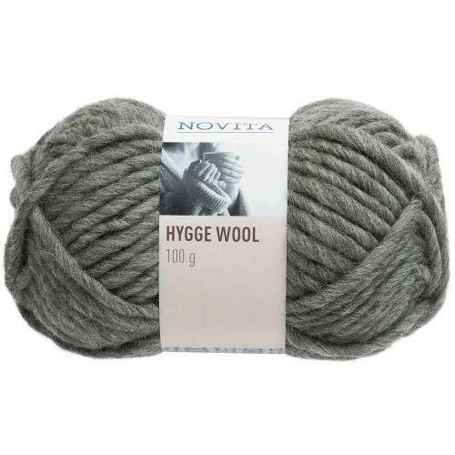 NOVITA HYGGE WOOL 100G SUMU