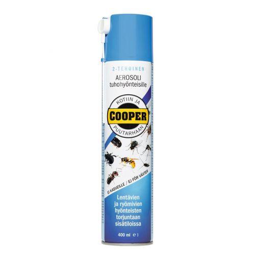 Cooper aerosoli tuhohyönteisille 400ml