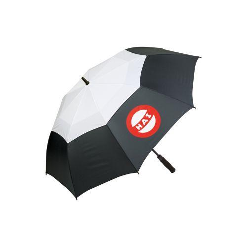 Hai sateenvarjo musta