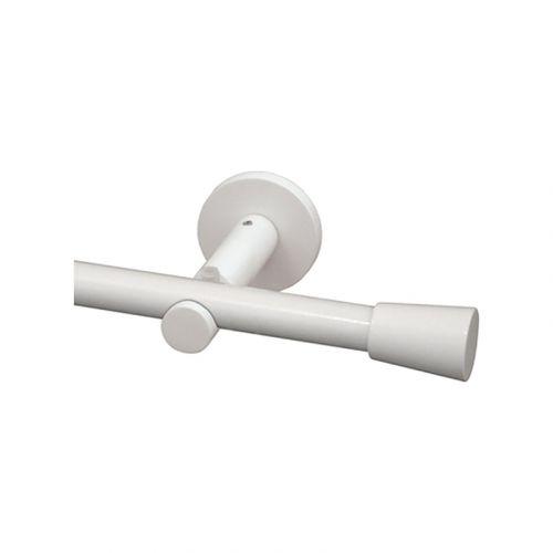 Pisla verhotanko Tivoli 13/16mm120-210 kiilt.valkoinen