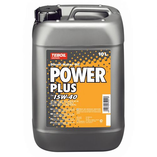 Teboil Power Plus 15W-40 10L dieselmoottoriöljy