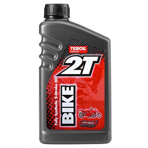 Teboil 2-T Bike Synthetic 1L täyssynteettinen moottoripyöräöljy