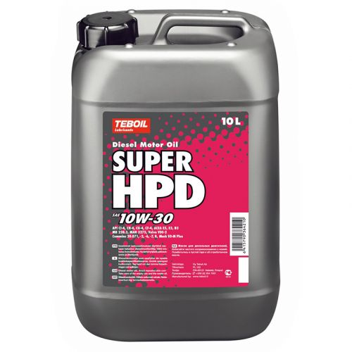 Teboil Super HPD 10W-30 10L dieselmoottoriöljy