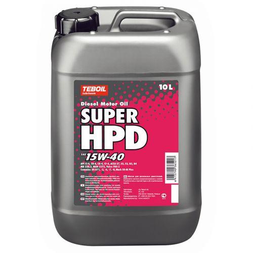 Teboil Super HPD 15W-40 10L dieselmoottoriöljy