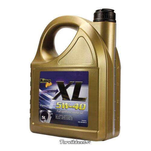 King täyssynteettinen öljy XL Premium 5W-40 5L