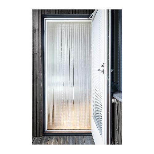 Ötökkä Original Luxus oviverho 92 x 210 cm, savu/harmaa