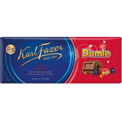 Karl Fazer Dumle suklaalevy 200g