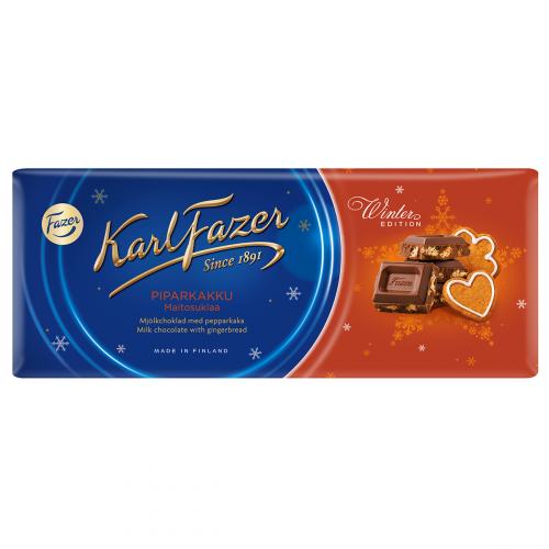 Karl Fazer Winter Edition Piparkakku maitosuklaa 200g