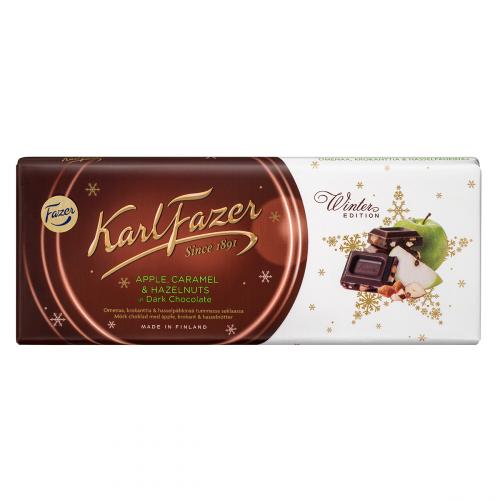 Karl Fazer Winter Edition maustettu tummasuklaa 200g