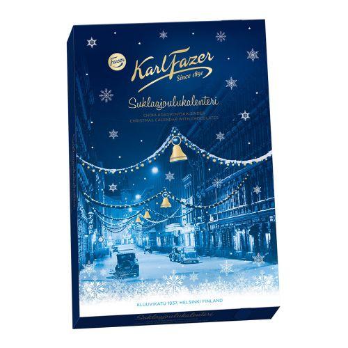 Karl Fazer Suklaajoulukalenteri 175g