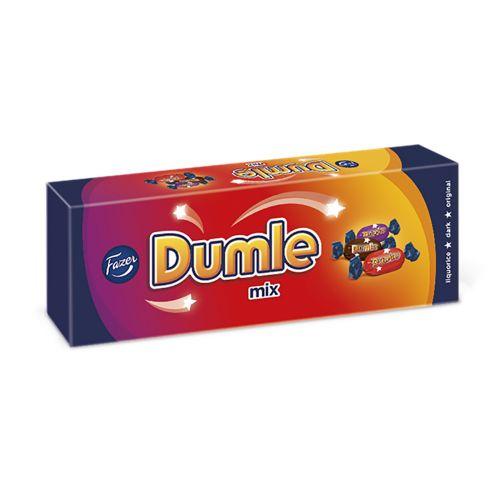 Karl Fazer Dumle Mix suklainen toffeekaramellisekoitus 350g