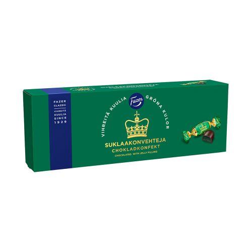 Fazer Vihreitä Kuulia suklaakonvehteja 320g