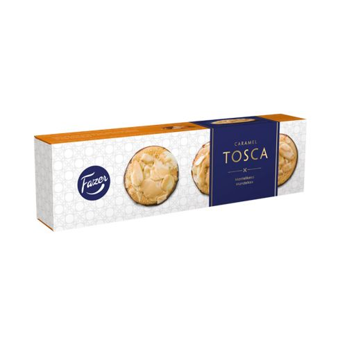 Fazer Caramel Tosca mantelikeksi 100g