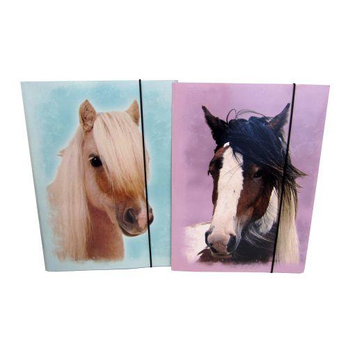 HORSE SWEET KULMALUKKOKANSIO A4