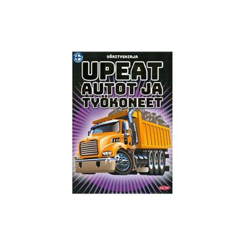 Tactic Upeat autot ja työkoneet värityskirja